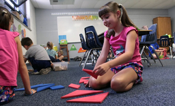 K-5 students sharpen their math skills for the new school year