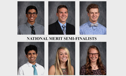 12 receive National Merit honors