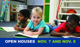 Stop by the Open Houses Nov. 7 and 8