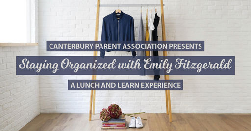 Parent Association Presents: Staying Organized with Emily Fitzgerald