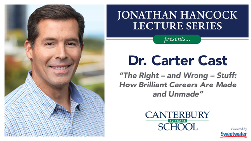 Jonathan Hancock Lecture Series: Carter Cast