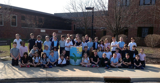 Grade 2 Students Celebrate Earth Day