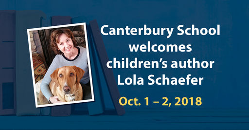 Author Visit: Lola Schaefer