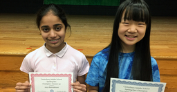 "Chloe Park ('24) Wins Middle School Spelling Bee with ""Legacy"""