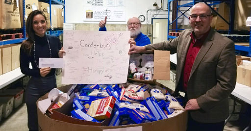 Canterbury Helps the Hungry in a Big Way this Year