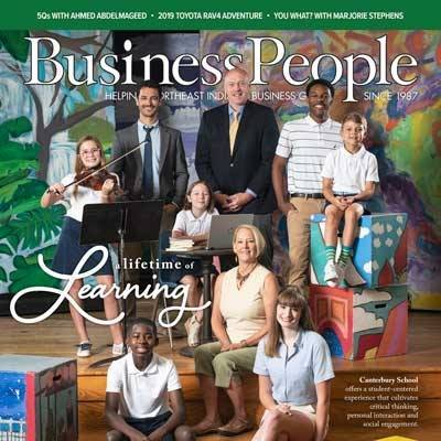 Canterbury Featured on Business People Magazine Cover