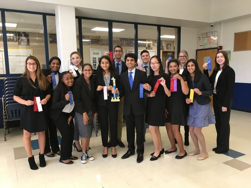 Canterbury speech team takes first place
