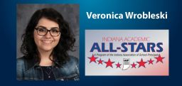 Wrobleski Honored as Indiana Academic All-Star
